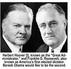Hoover vs. Roosevelt